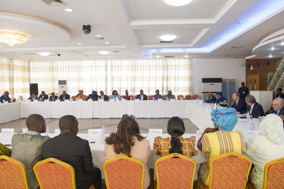 Secretary-General Meets Representatives of Civil Society, Sierra Leone