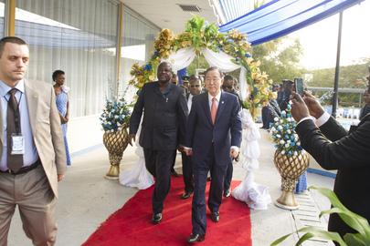 Ceremony Marking Closure of Sierra Leone Peacebuilding Office