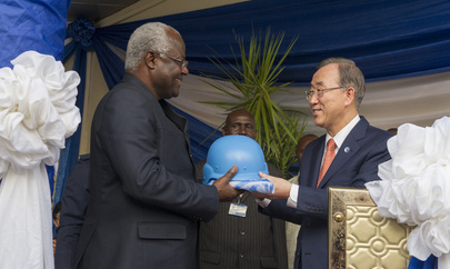 Ceremony Marking Closure of Sierra Leone Peacebuilding Office