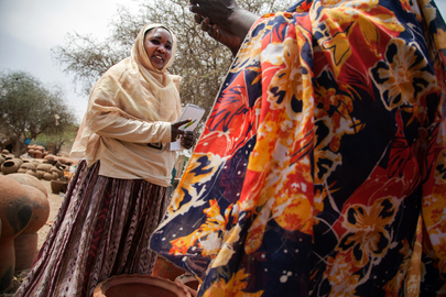 UNAMID Gender Officer Meets El Fasher Women