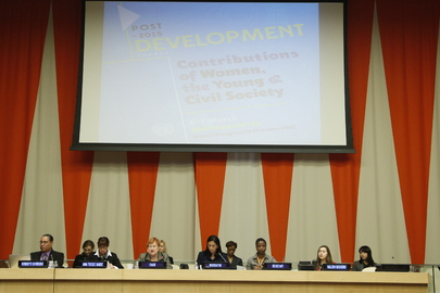 Assembly Discusses Role of Women, Youth, Civil Society in Development Agenda