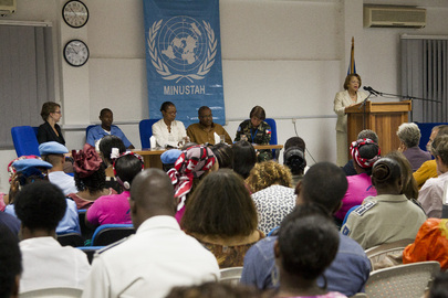 MINUSTAH Observes International Women's Day