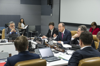 Secretary-General Meets Advisory Board on Disarmament