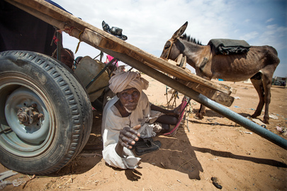 Thousands of Sudanese Displaced, Fleeing Violence in Darfur