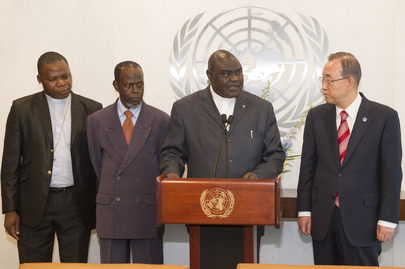 Secretary-General Meets Religious Leaders of Central African Republic
