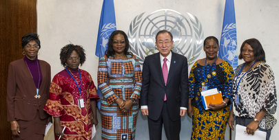 Secretary-General Meets Gender and Family Minister of DRC