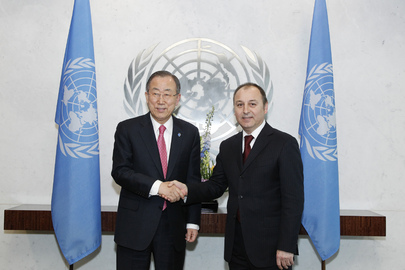 Secretary-General Meets New Representative of Former Yugoslav Republic of Macedonia