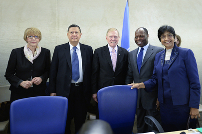 Rights Commissioner and Head of Rights Council Meet DPRK Commission of Inquiry
