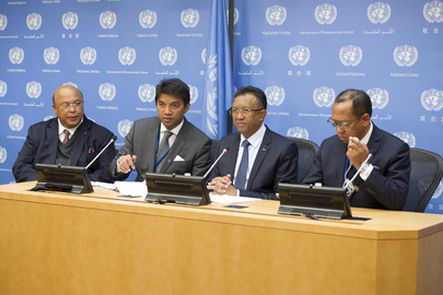 Press Conference by President of Madagascar