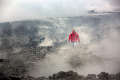 MONUSCO Assists Volcanologists at Mount Nyamulagira Crater