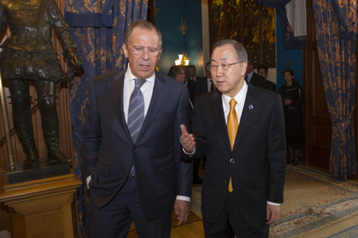 Secretary-General Meets Minister for Foreign Affairs of Russia