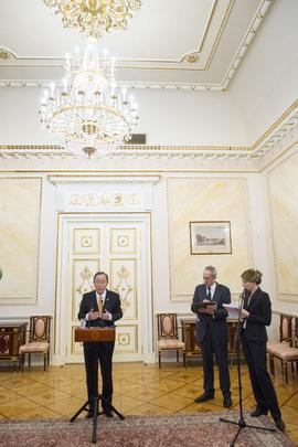 Press Conference by Secretary-General at Kremlin