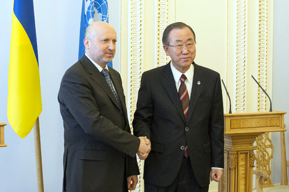 Secretary-General Meets Acting President of Ukraine