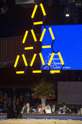 Secretary-General speaks at the Opening Session of the Nuclear Security Summit 2014.