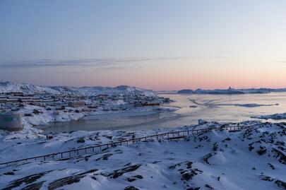 Scene from Illulissat, Greenland