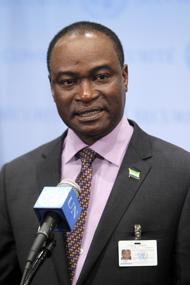 Foreign Minister of Sierra Leone Briefs Press