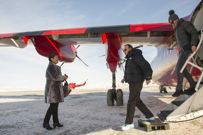 Secretary-General Arrives in Uummannaq, Greenland