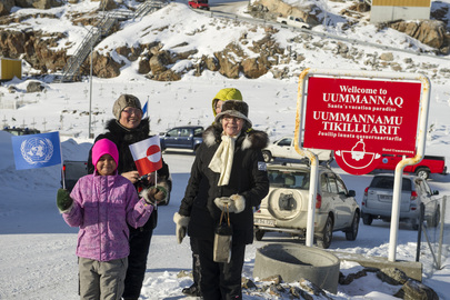 Residents of Uummannaq, Greenland