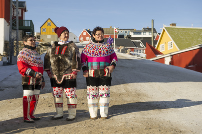 Indigenous Women of Uummannaq, Greenland. UN Photo/Mark Garten