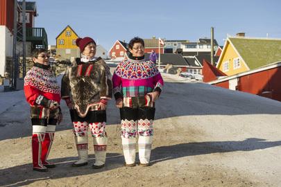 Indigenous Women of Uummannaq, Greenland
