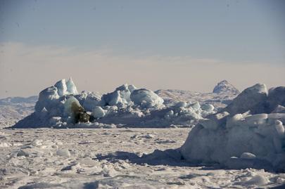 Scene from Uummannaq, Greenland