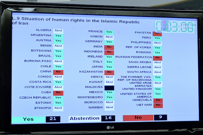 Rights Council Adopts Resolutions on Syria, Iran, DPRK