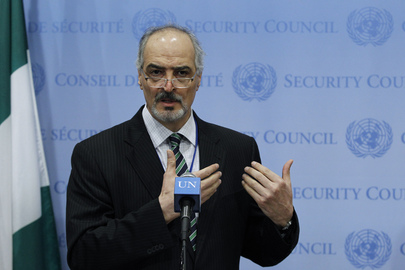 Permanent Representative of Syria Briefs Media