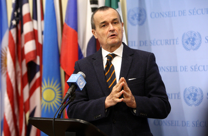 French Representative Briefs Press on Democratic Republic of Congo