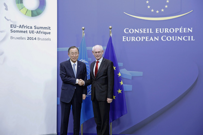 Secretary-General Meets President of European Council