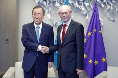 Secretary-General Meets President of European Council