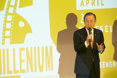 6th Annual MDG Film Festival Previewed in Brussels