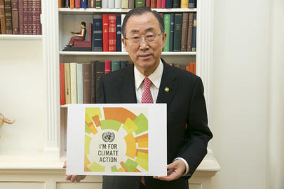 Secretary-General Supports Climate Action Efforts