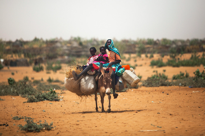 North Darfur IDP Camp Receives Over 8,000 Newly Displaced Residents