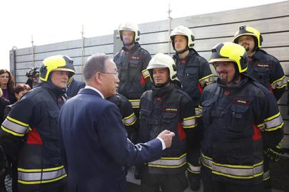 Secretary-General Applauds Prague's Climate Change Preparedness
