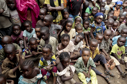 Internally Displaced Children in Bangui, Central African Republic