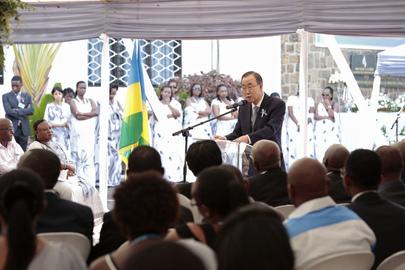 UN Commemorates Own Staff Lost in Rwanda Genocide