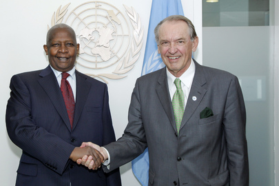 Deputy Secretary-General Meets Foreign Minister of Uganda
