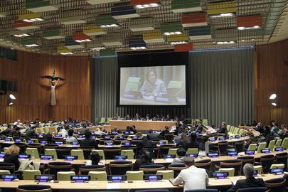 Joint Debate of Assembly and ECOSOC on Partnerships for Post-2015 Agenda