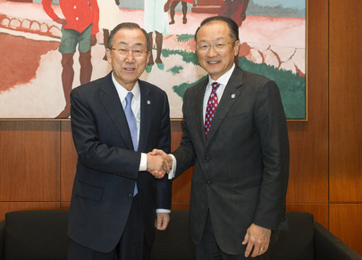 Secretary-General Meets President of World Bank
