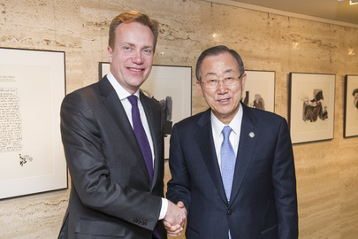 Secretary-General Meets Foreign Minister of Norway, Washington