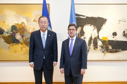 Secretary-General Meets Head of Inter-American Development Bank