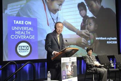 Toward Universal Health Coverage by 2030: World Bank Event