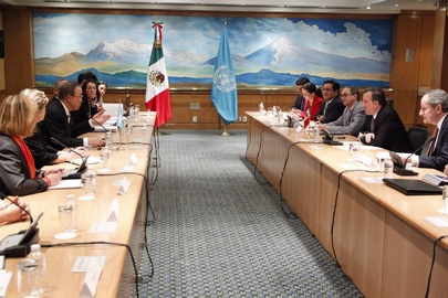 Secretary-General Meets Foreign Minister of Mexico