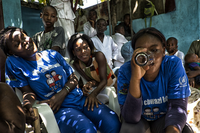 MINUSTAH Partners with Haitian Agencies to Combat Cholera