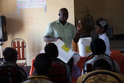 MINUSTAH Partners with Haitian Agencies to Combat Cholera