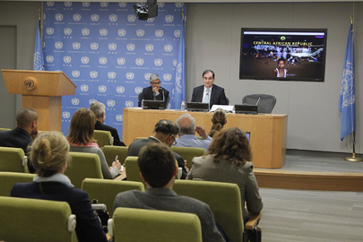 OCHA Director Briefs Press on Trip to Central African Republic