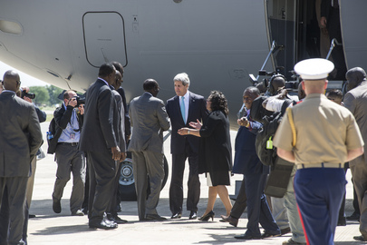 United States Secretary of State Visits South Sudan