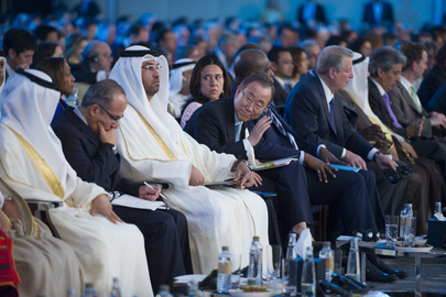 Secretary-General Attends Abu Dhabi Ascent Climate Change Conference