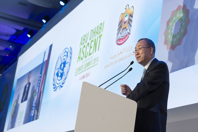 Secretary-General Addresses Abu Dhabi Ascent Climate Change Conference