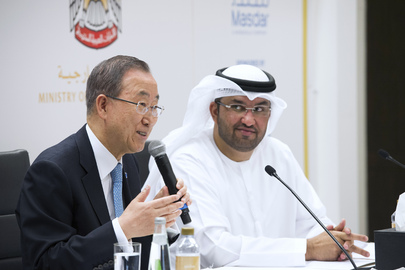 Secretary-General Briefs Media on Climate Change